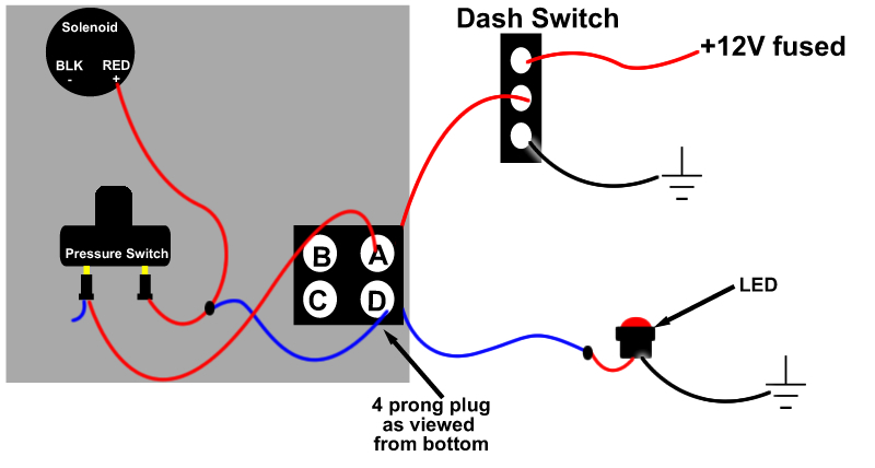 Tcc Manual Switch With Light